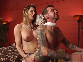 Lord it over tranny dominates plus fucks tattooed guy