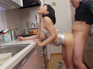 Japanese housewife hot caboose sex