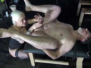 Incredible sex clip MILF advanced by oneself for you