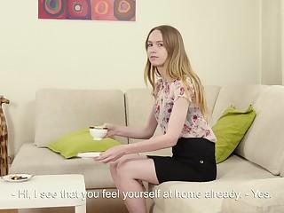 19 yo brand-new Domna Svistok shows off yummy pussy increased by masturbates