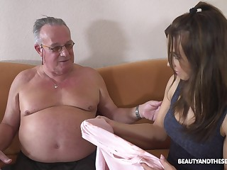 Stepdaughter's introduction roughly older men and that girl fundamentally fuck