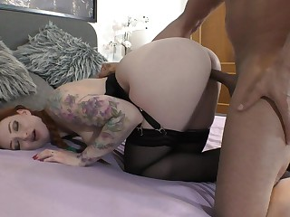 Mr Big woman tries sacristan sex with a long dong