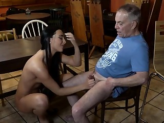 Old young resulting and mistress feet prime time Can you