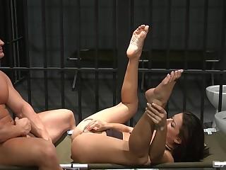 Hot lewd pornstar hardcore sex video