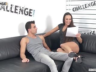 Pornstar checks that young man's resume onwards fucking him on camera