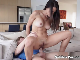 Eva Long encircling Three Steps To Fuck Your Step Mom - MomsTeachSex