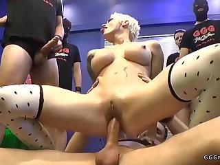 Auriferous trollop crazy gangbang porn blear