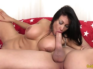 XXX and hot old women and GILFs taking hard cocks in mouth and suck so good