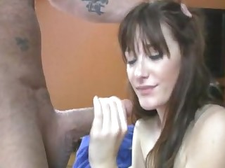 intriguing moments when the horny aunt sucks my dick