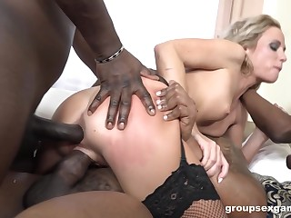 Black hunks fuck this spliced with the addition of leave her exhausted