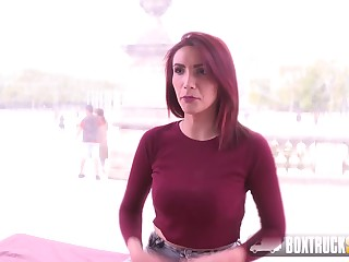 Amina Happening is a very experienced babe with big tits, who likes to performance with dicks