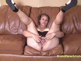 Abby is a hot milf in this casting!