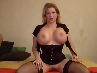 Deutsch milf enjoys giving POV guy a blowjob and gets his obtuse dick into her irritant