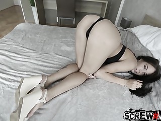 Tall Russian wannabe model gets fucked in the hotel region