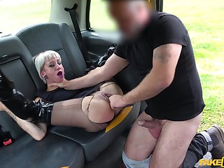 Naked of age rides make an issue of obedient man's cock like imbecile