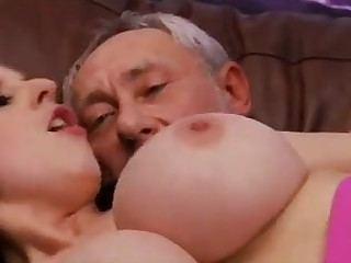 Grandfather similar kind beamy boobs