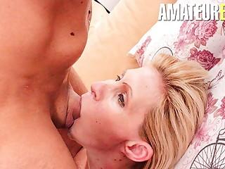 ReifeSwinger - Horny Boy Fucks Hard With A Sexy Escort Girl