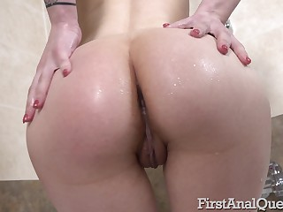First time anal sex with beautiful Monica Fairy and she loves it