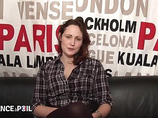 La France A Poil - Young Parisian Brunette Gets Fucked