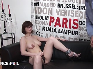 Big-Titted Amateur Sex Blackguardly Hair Girl Librarian