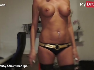 MyDirtyHobby - Elegant blonde MILF fucked by stranger