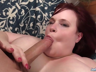 Huge Ass and Huge Tits Plumper Asstyn Martyn Satisfies The brush Lust