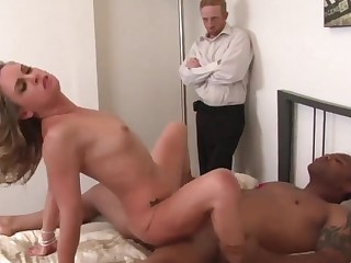 Hot n sexy swinger wives be aware riding dicks in cowgirl positions while husbands watching