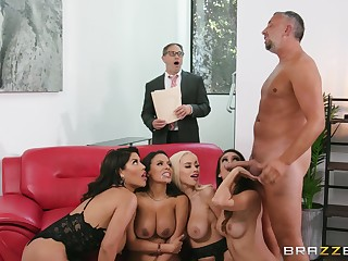 MILFs with insane curves, premium hauteur of real cock sharing