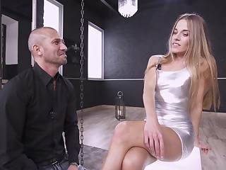 Not in a million years did she felt so complying riding dick in brutal anal scenes
