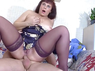 Horny Teen Caitiff public schoolmate Fucks Fat Whore