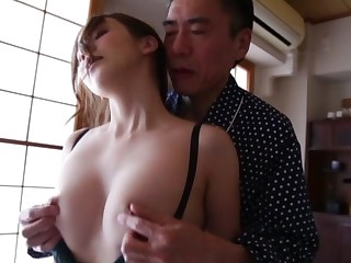 Hot ass cutie Tomoda Ayaka gets licked together with fucked foreigner struggling against odds