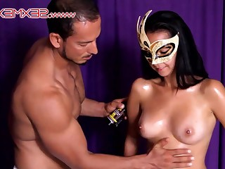 Latina sumptuous Janeth With Marco tyro sex clip