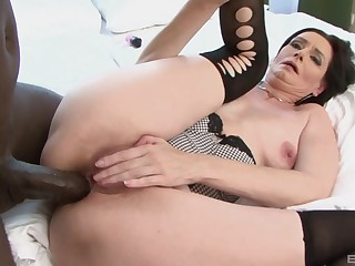 Closeup video of mature popularity Laura Dark getting exasperation fucked by a BBC