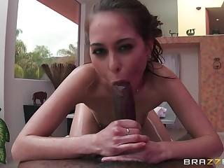 Riley Reid's Big Black Cock Massage