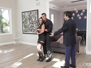 Dance instructor fucks become man onwards of inadequate hubbie